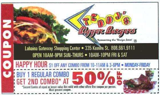 Maui coupons